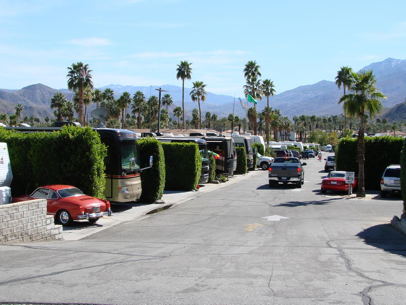 Happy Traveler Rv Park Palm Springs